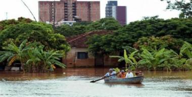 Intensas lluvias en Brasil