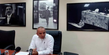 Ernesto Soberón, director del Departamento de Asuntos Consulares y Cubanos Residentes en el Exterior
