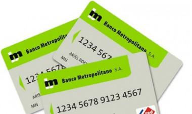 Banco Metropolitano aplicará bonificación a compras con tarjeta magnética