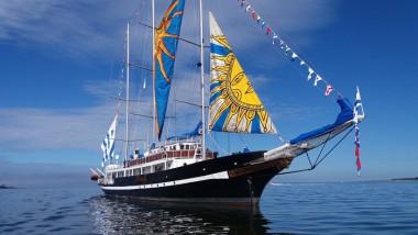Arribará a Cuba velero-escuela de la Armada de Uruguay