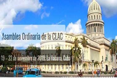Logo de la XXIII Asamblea Ordinaria de la Comisión Latinoamericana de Aviación Civil (CLAC)