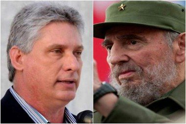 Miguel Díaz-Canel Bermúdez y Fidel