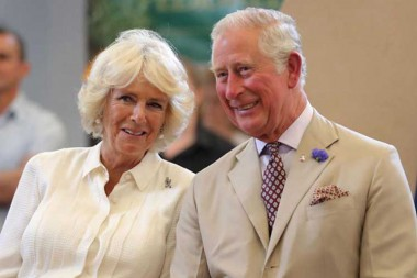 Príncipe de Gales y duquesa de Cornualles