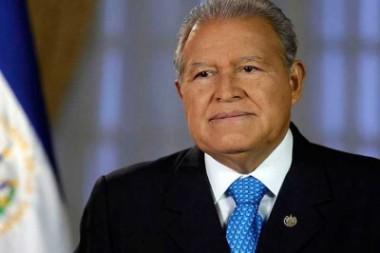presidente de El Salvador, Salvador Sánchez Cerén