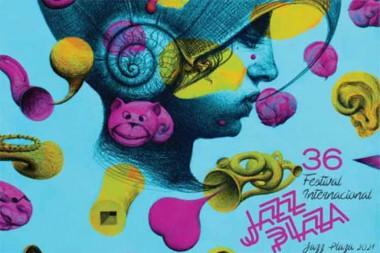 cartel de la 36 edición del Festival Internacional Jazz Plaza
