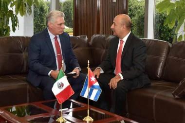 Visita de Díaz-Canel a México valida avances en relación bilateral