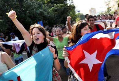 Universitarios cubanos