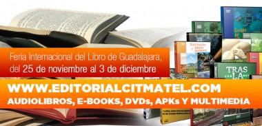 Banner alegórico a la participación de Citmatel en las FILs