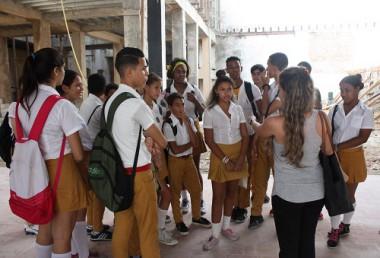Centro para Adolescentes en La Habana Vieja