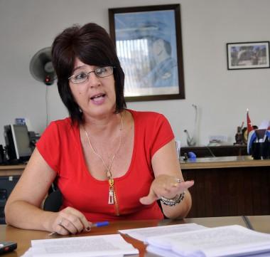 Viceministra de Trabajo y Seguridad Social Marta Elena Feitó. Foto: Trabajadores.