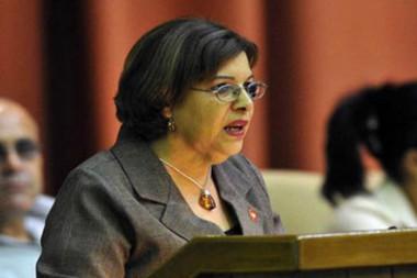 Ministra de Finanzas y Precios, Lina Pedraza