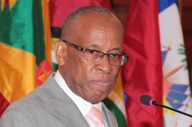 Viceprimer ministro de San Vicente y las Granadinas, Luis Straker
