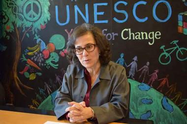 subdirectora general de la Unesco para Ciencias Sociales y Humanas, Nada al-Nashif