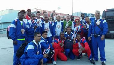 Equipo cubano en Hockey sobre piso
