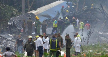 Accidente de aviación en Cuba