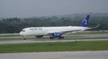 vuelo inaugural de la aerolínea española World2Fly
