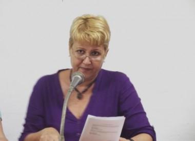 Aixa Hevia, vicepresidenta primera de la Unión de Periodistas de Cuba