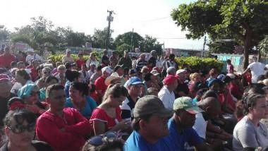 Comunidad Rafael Ferro Macías, sitio ubicado en las montañas de San Andrés de Caiguanabo