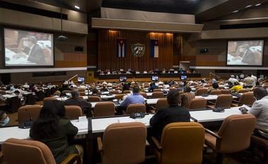 Quinto Período Ordinario de sesiones de la Asamblea Nacional del Poder Popular (ANPP), en su IX Legislatura. Foto: Irene Pérez/ Cubadebate.