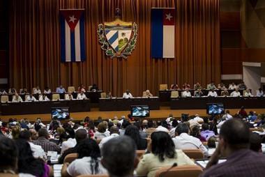 Segunda jornada de trabajo del Primer Periodo Ordinario de Sesiones de la IX Legislatura de la Asamblea Nacional.