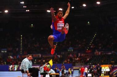 saltador de longitud cubano Juan Miguel Echevarría