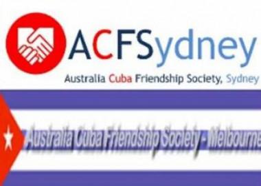 Asociación de Amistad Australia-Cuba brinda donativo a Cuba