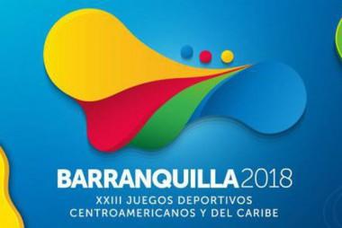 Banner alegórico a los Juegos de Barranquilla