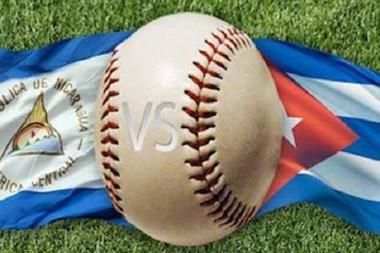Béisbol Cuba y Nicaragua
