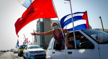 Cuba en caravana por la paz, el amor y la solidaridad