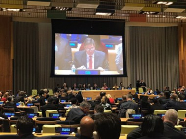 Cuba firme pese a estragos del huracán Irma, señala Bruno Rodríguez en la ONU