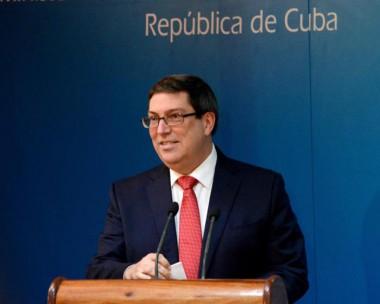 ministro de Relaciones Exteriores de Cuba, Bruno Rodríguez