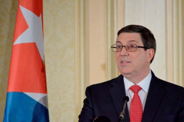 Ministro de Relaciones Exteriores de Cuba, Bruno Rodríguez Parrilla