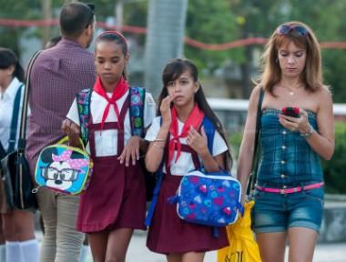 Niños para la escuela