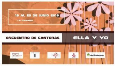 Banner del Encuentro de Cantoras Ella y Yo