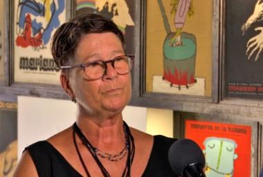 Sara Vega, especialista de la Cinemateca de Cuba