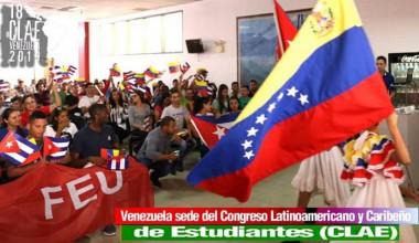 Comienza hoy Congreso estudiantil en Caracas