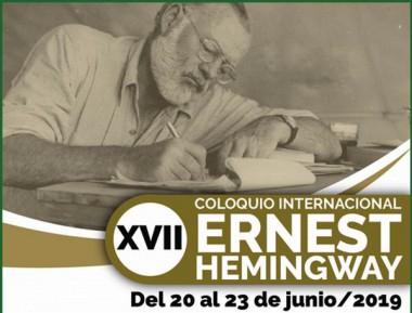 Banner del XVII Coloquio Internacional Ernest Hemingway