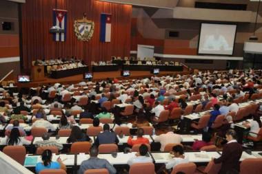 Diputados del Parlameto cubano