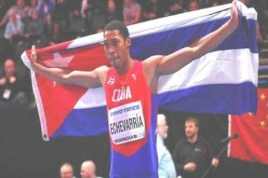 Saltador cubano Echevarría compite en mitin atlético de Ostrava