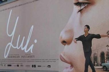 Banner alegórico al filme Yuli