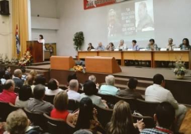 +presidente cubano, Miguel Díaz-Canel, encabeza hoy el balance del Ministerio de Eduación (Mined)