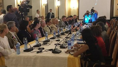 Delegación de EEUU explora negocios con Cuba
