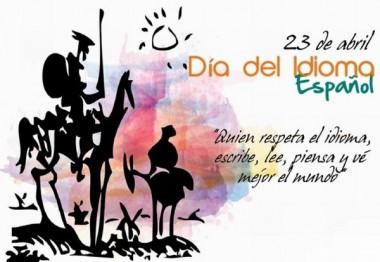 Imagen alegórica al día del idioma español
