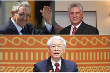Dirigentes cubanos congratulan a nuevo presidente de Vietnam