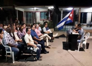 Afirma Díaz-Canel en Ciego de Ávila que tendremos una Constitución más robusta