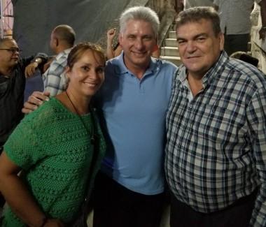 Asistió Díaz-Canel a concierto en la Universidad de La Habana