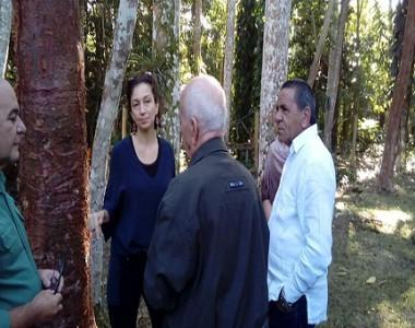 Directora general de la UNESCO visita Sierra del Rosario
