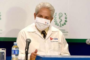Director nacional de Epidemiología de Cuba, Francisco Durán