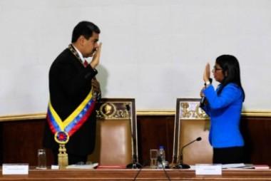 El presidente venezolano, Nicolás Maduro, se juramentó este jueves ante la Asamblea Nacional Constituyente