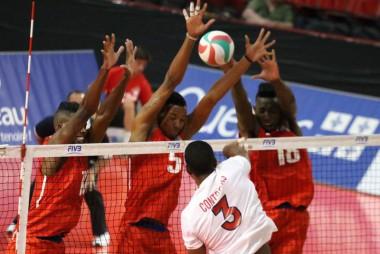 Cuba supera a República Dominicana en debut Copa Panamericana Masculina. Foto: NORCECA